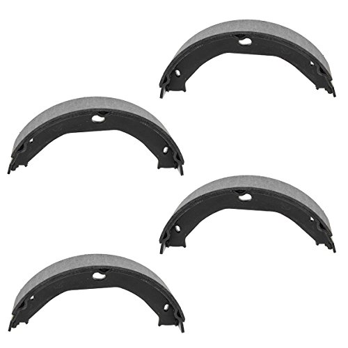 Cherokee Jeep Grand Emergency Brake - Rear Parking Brake Shoe Set for 99-04 Jeep Grand Cherokee