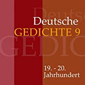 Deutsche Gedichte 9: 19. - 20. Jahrhundert |  div.