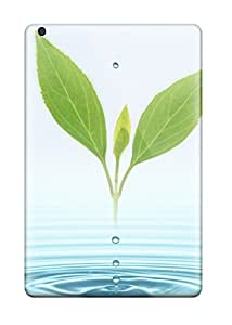 BrewerEdward Case Cover For Ipad Mini/mini 2 - Retailer Packaging Fresh Leaves Rising Protective Case