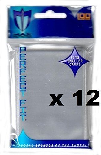 (MAX PRO 1200 PERFECT FIT small INNER Sleeves for DOUBLE SLEEVING (fits Yu-Gi-Oh , Card Fight Vanguard and other small sized cards))