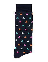 Skunk Socks Fiesta Calcetines de vestir, Hombres