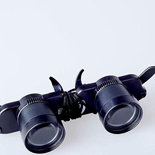 Msmask Telescope Glasses Style Magnifier Eyewear Fishing Hiking Concert Opera Theater Match Binoculars Fishing Hiking ()