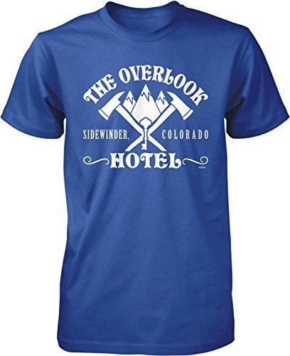 Colorado Hotel - NOFO Clothing Co Overlook Hotel, Sidewinder Colorado Men's T-Shirt, L Royal