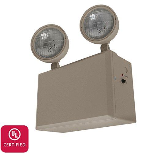 LFI Lights - UL Certified - Hardwired Remote Capable Emergency Light - Heavy Duty - 12V 100W - 9W Heads - EL100HD12 (Remote Capable Emergency Light)