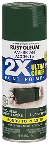 Rust-Oleum 327879-6 PK American Accents Spray Paint, Gloss Hunter Green