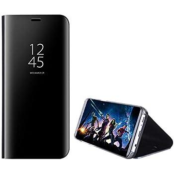 Amazon.com: Galaxy S105G Shell, Translucent Window View Flip ...