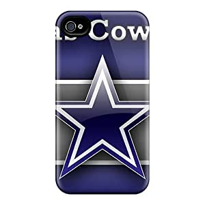 High Quality Mobile Cover For Iphone 4/4s With Custom Fashion Dallas Cowboys Series JonathanMaedel