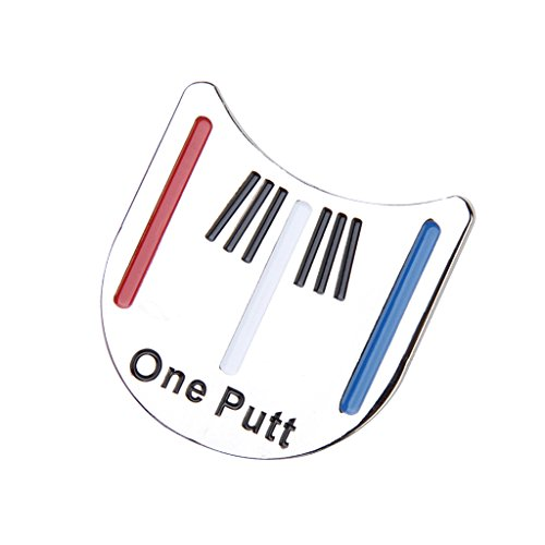 STONCEL Golf Putting Alignment Tool Ball Marker w/ Hat Clip