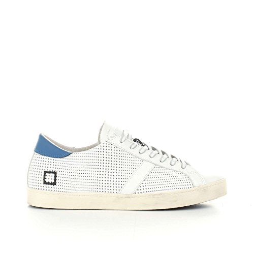 D.A.T.E... HILL LOW POP PERFORATED M WHITE blu
