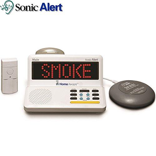 Sonic Alert® HomeAware™ Emergency Alert System Alarm & Bed Shaker by Sonic Alert