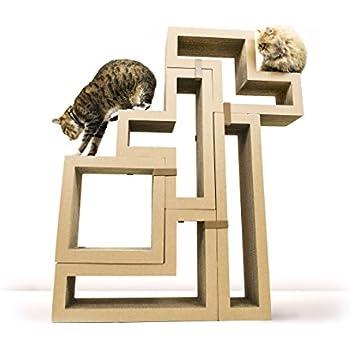 KATRIS Modular Cat Tree - 5 Blocks with Different Styles