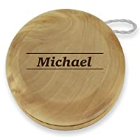 Dimension 9 Michael Classic Wood Yoyo with Laser Engraving