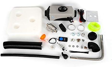 Kaibrite 5kw 12v Luft Diesel Heizung Kit Lkw Pkw Luftheizung Standheizung Heizgerät Weiß Schwarzer Bezug Auf Grau Auto