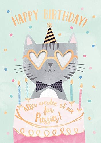 Tarjeta de felicitación de cumpleaños, tarjeta de música con ...