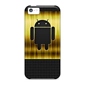 MDCH CFf2347gymJ Protective Case For Iphone 5c(android Gold)
