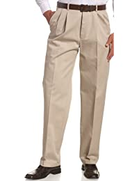 Haggar Men's Work-To-Weekend No-Iron Pleat-Front Pant...
