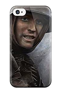 Fashion Case Cover For Iphone 4/4s(hearts Of Iron) 3082784K50846800