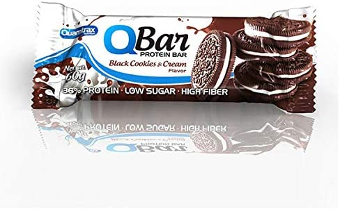 QBar Protein bar - 60g - Sabor Manzana canela: Amazon.es ...