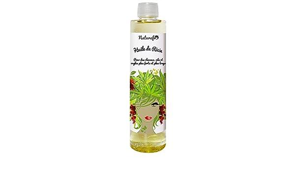 Aceite de Ricino para cabello - 250 ml, tapón roscado: Amazon.es: Belleza