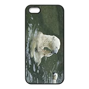 White Bear Hight Quality Plastic Case for Iphone 5s by Maris's Diary