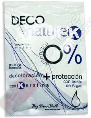 Decolorante Deco Nature-K 0% Amoniaco Sobre 40 gr. (1)
