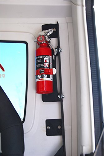 - MBRP 131000 Black Coated Fire Extinguisher Mount