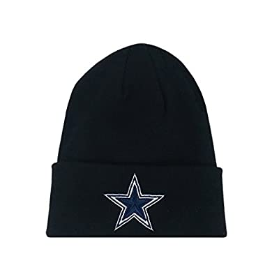 Reebok Beanie Dallas Cowboys Team Apparel Basic Cuffed Winter Knit Headwear