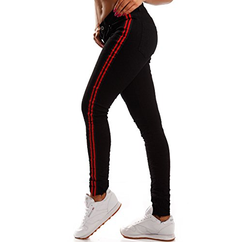 Basic fashion Young Relaxed Nero Jeans Donna tztwRq
