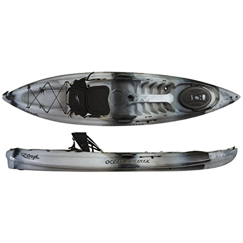Ocean Kayak Caper Angler One-Person Sit-On-Top Fishing Kayak, Urban Camo, 11 Feet