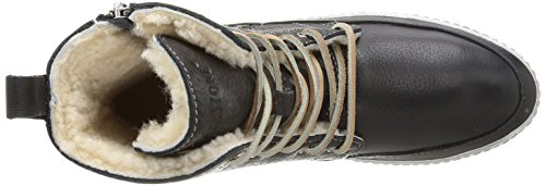 Blackstone LAOS TOWN - Zapatillas altas, color: Negro Negro