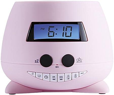 Bigben Interactive Stella Reloj Despertador con proyector de Techo ...