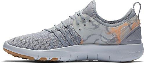Nike Womens Free Tr 7 Prt Training Shoes (grigio / Arancione, 11)