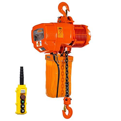 Prowinch PWR2 2 Ton Electric Chain Hoist 4000 lbs