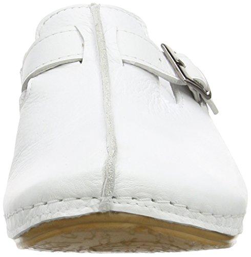 weiß 001 Conti 001 Blanc Femme Sabots Andrea 0021541 dXwq4wY