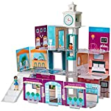 Wonderhood Grand Hotel - Customizable Design, Building and Play Set - Best Gift for Creativity, Learning and Fun