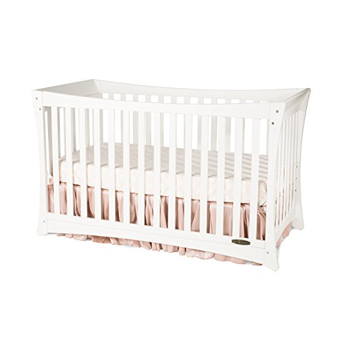 Child Craft Parisian 3-in-1 Convertible Crib, Matte White