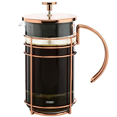 GROSCHE Madrid Premium French Press Coffee and Tea Maker (Rose Gold - 34 oz)