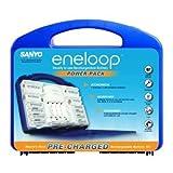 : eneloop Starter Kit in Blue Case (Power Pack 1st Gen)