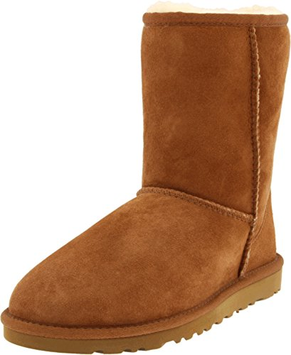 ugg-australia-womens-classic-short-chestnut-sheepskin-boot-9-bm-us