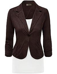 HyBrid & Company Womens Work Office Blazer Jacket Made In...