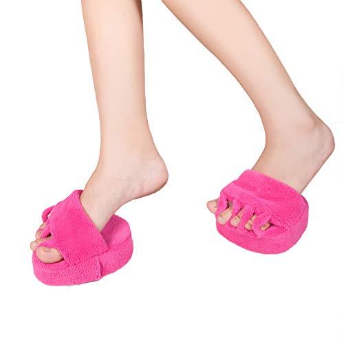 Demi amatorial beauté Pantoufles Cinq Pied Pantoufles de à de Doigts de Pied Rosy Maison Pantoufles Chaussures de Pied HHwZdqrz