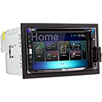 Dual DV695MB Double-DIN Multimedia DVD Receiver with Bluetooth and 2-Way DualMirror Technology
