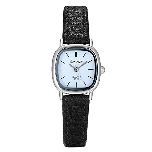 Oval Black Face Watch - 4