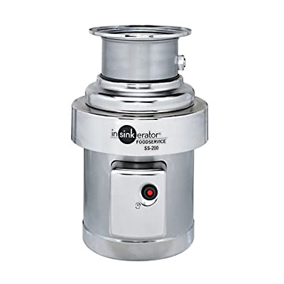 Insinkerator SS-200-31 Medium Capacity Commercial Waste Disposer