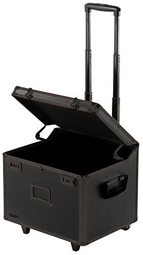 Vaultz Locking Mobile File Chest Letter/Legal, Tactical Black (VZ00307) - Legal Letter