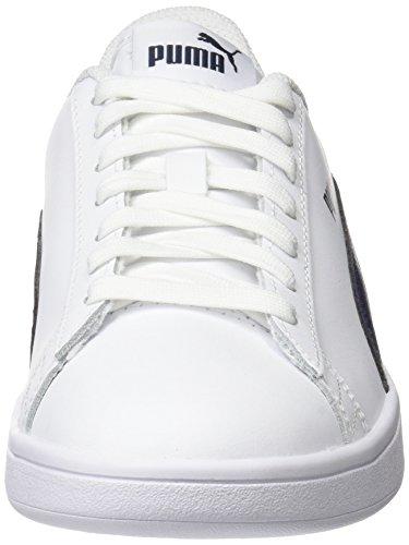 Smash Basses Adulte peacoat Puma White L Blanc Baskets Mixte V2 puma SxT6qO