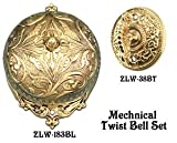 Recreated Interior Bell For Victorian Rococo Twist Doorbell SET (Z183S2-PB)