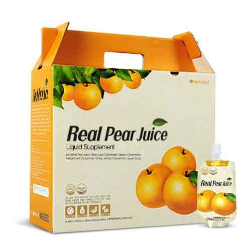 NEW RELEASE Chunho Food Real Pear Juice 60 Pack (No Water Added) by Chunho Food