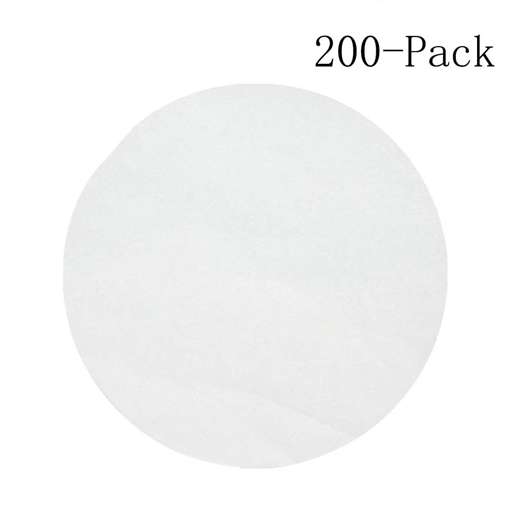 7 inch Parchment Paper 200pcs Round Pre-Cut Non-Stick Baking Paper Liners Circle Paper Sheet for Round Cake Pans, Springform Pan, Bundt Pan, Air Fryer, Cooking, Cheesecakes by HITUN