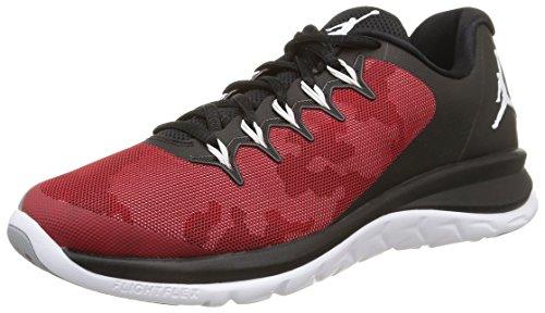Flight Runner Red Nike 2 Grey 004 Men's Jordan 715572 Black ZAAxSE